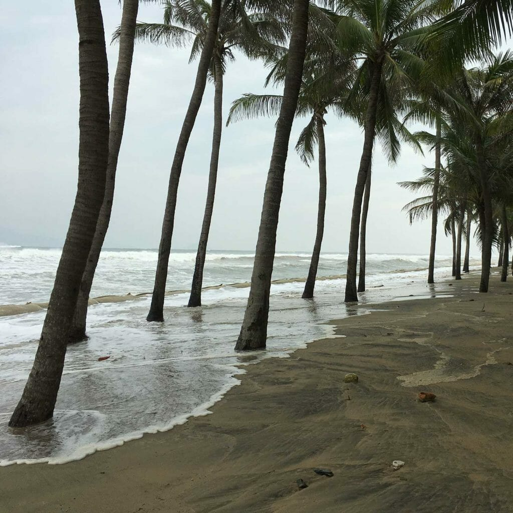 Ondergelopen stranden