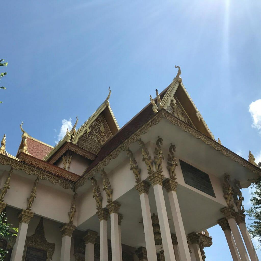 Phnow Penh Gebouw
