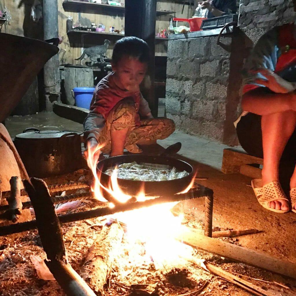 Koken doe je op vuur