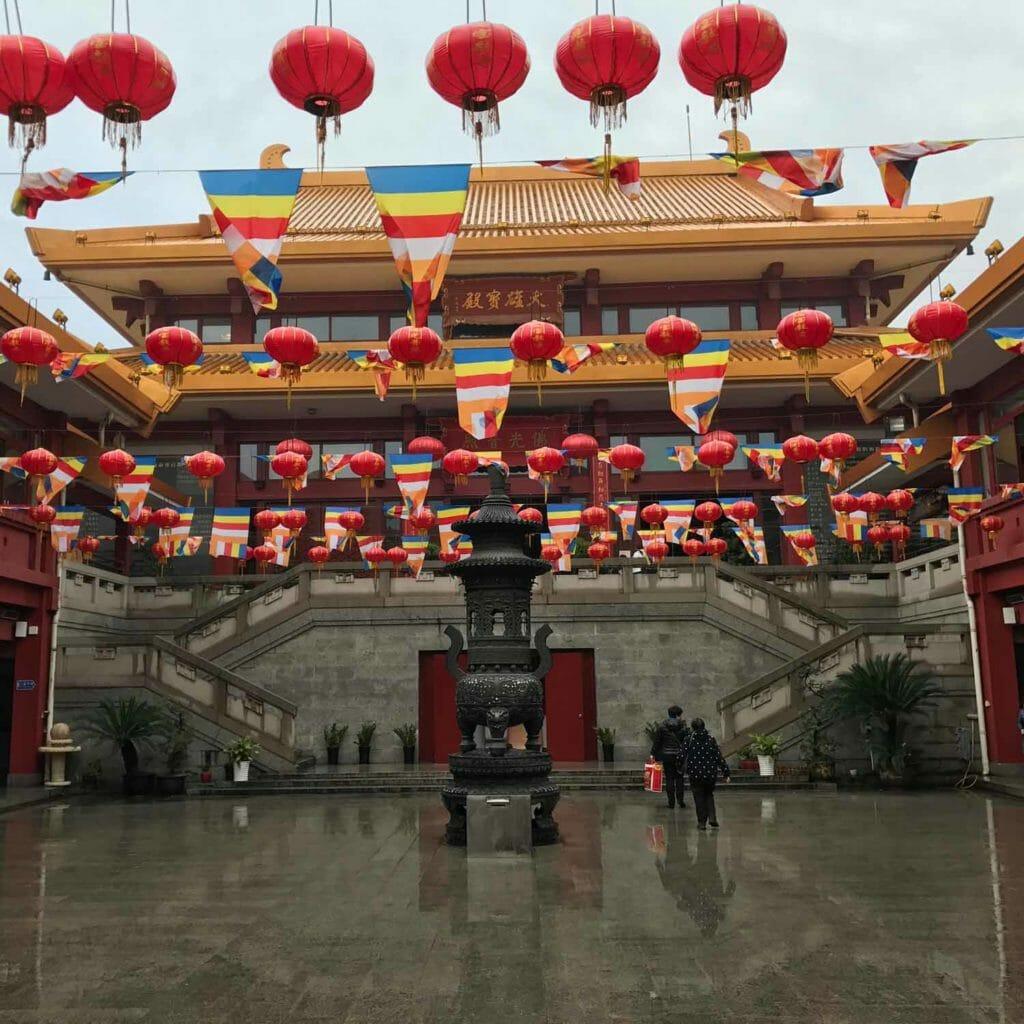 Shanghai-Quibao-Tempel
