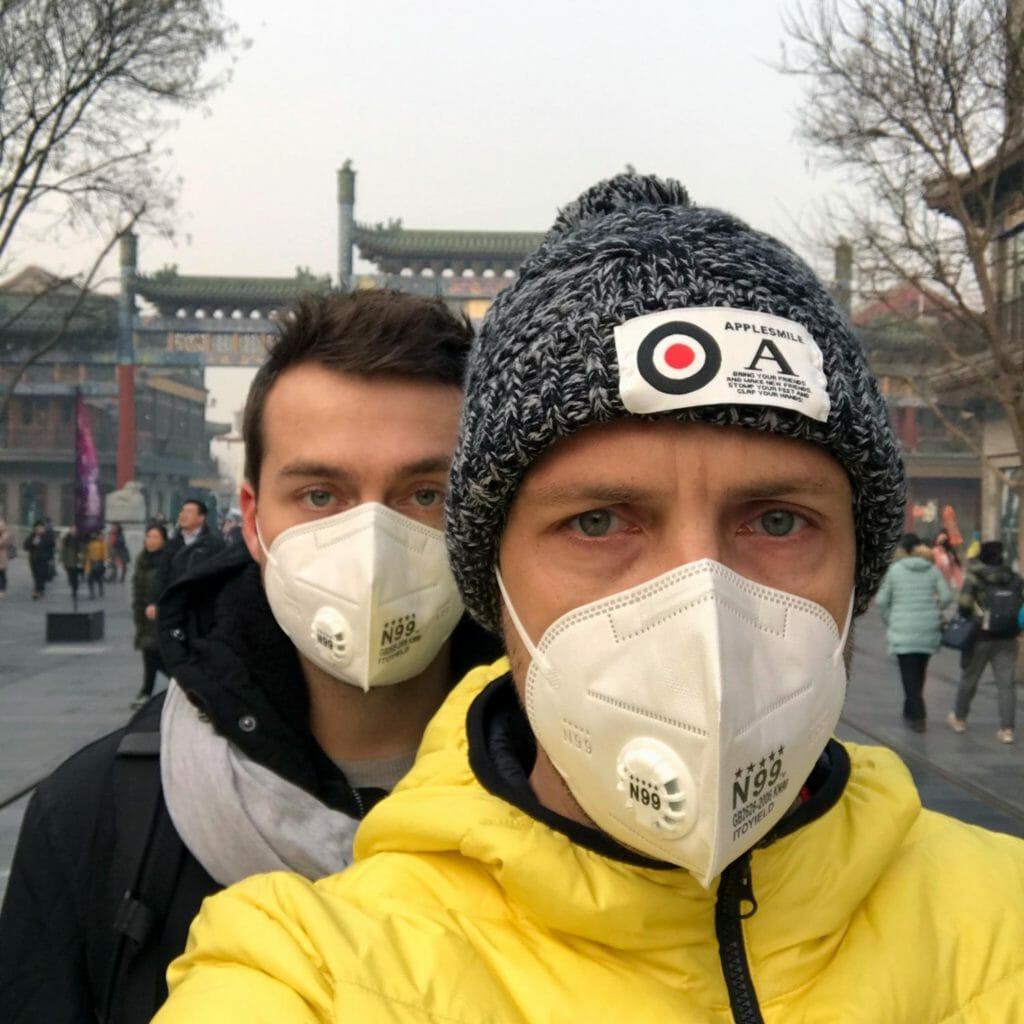 Beijing-Smog-Mondkapjes