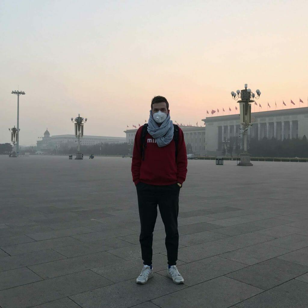 Beijing-Tiananmenplein-Michel