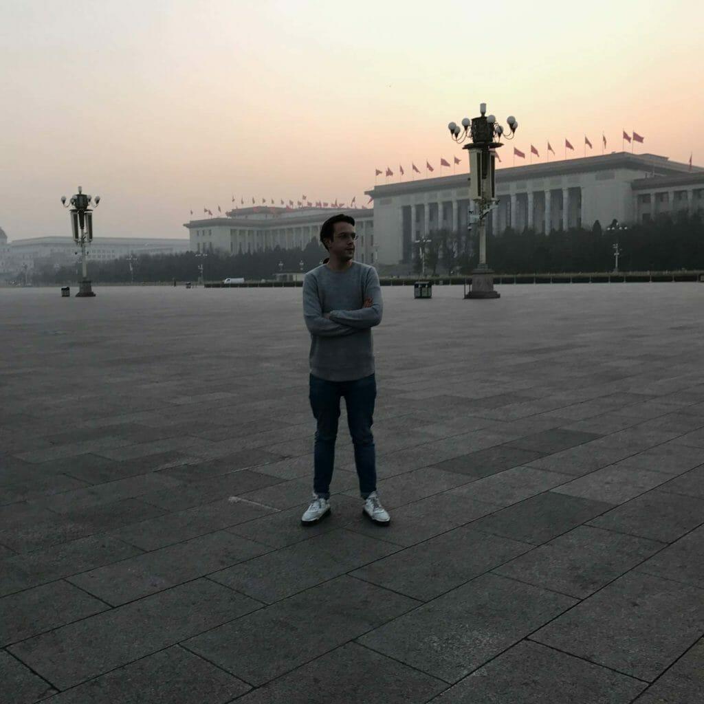 Beijing-Tiananmenplein-Tim