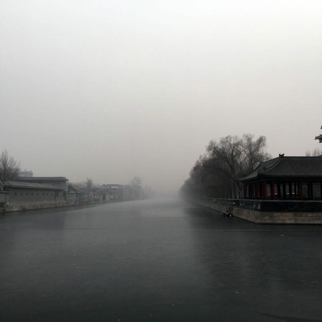 Beijing-Verbodenstad-Gracht