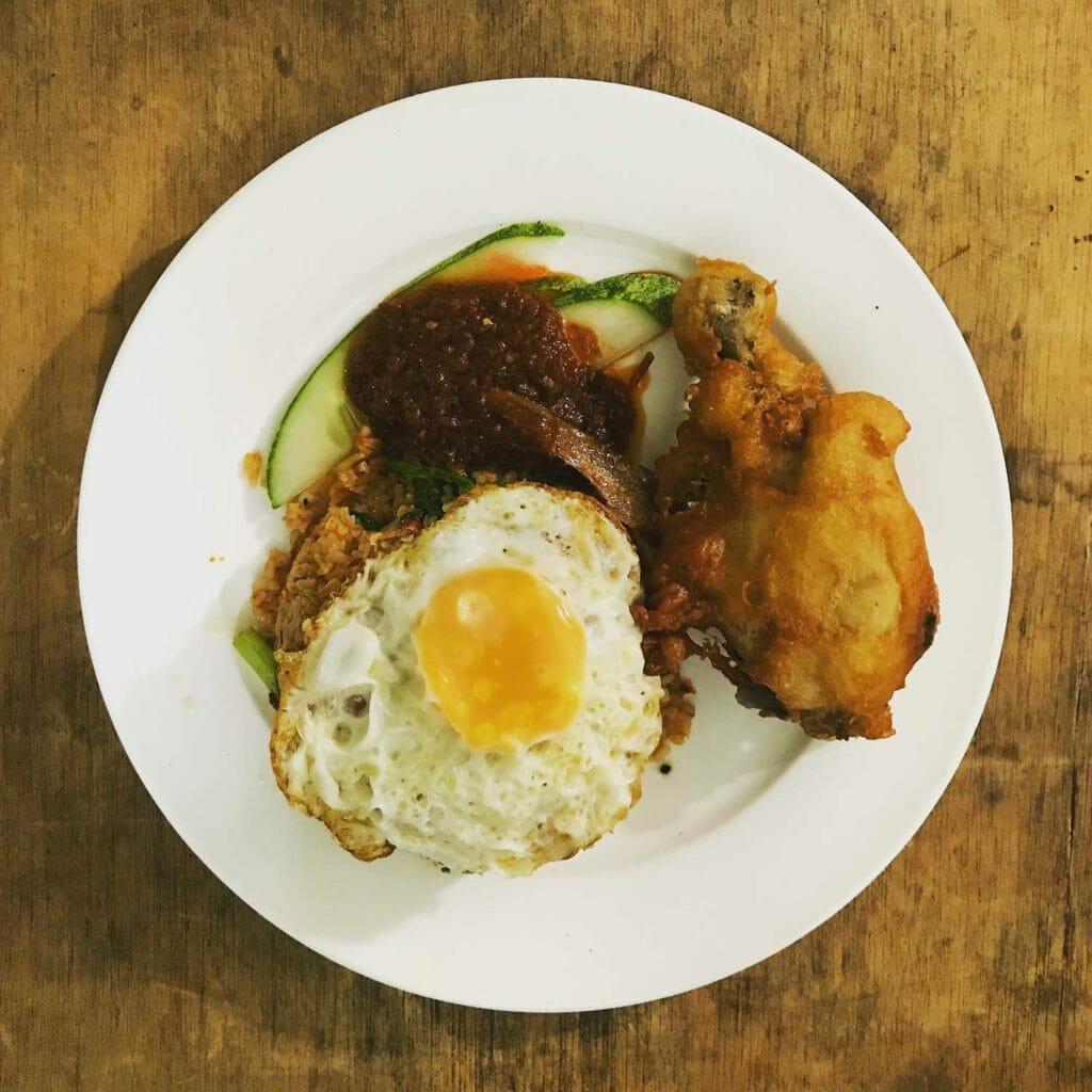 Kuching-Nasi-Kampong