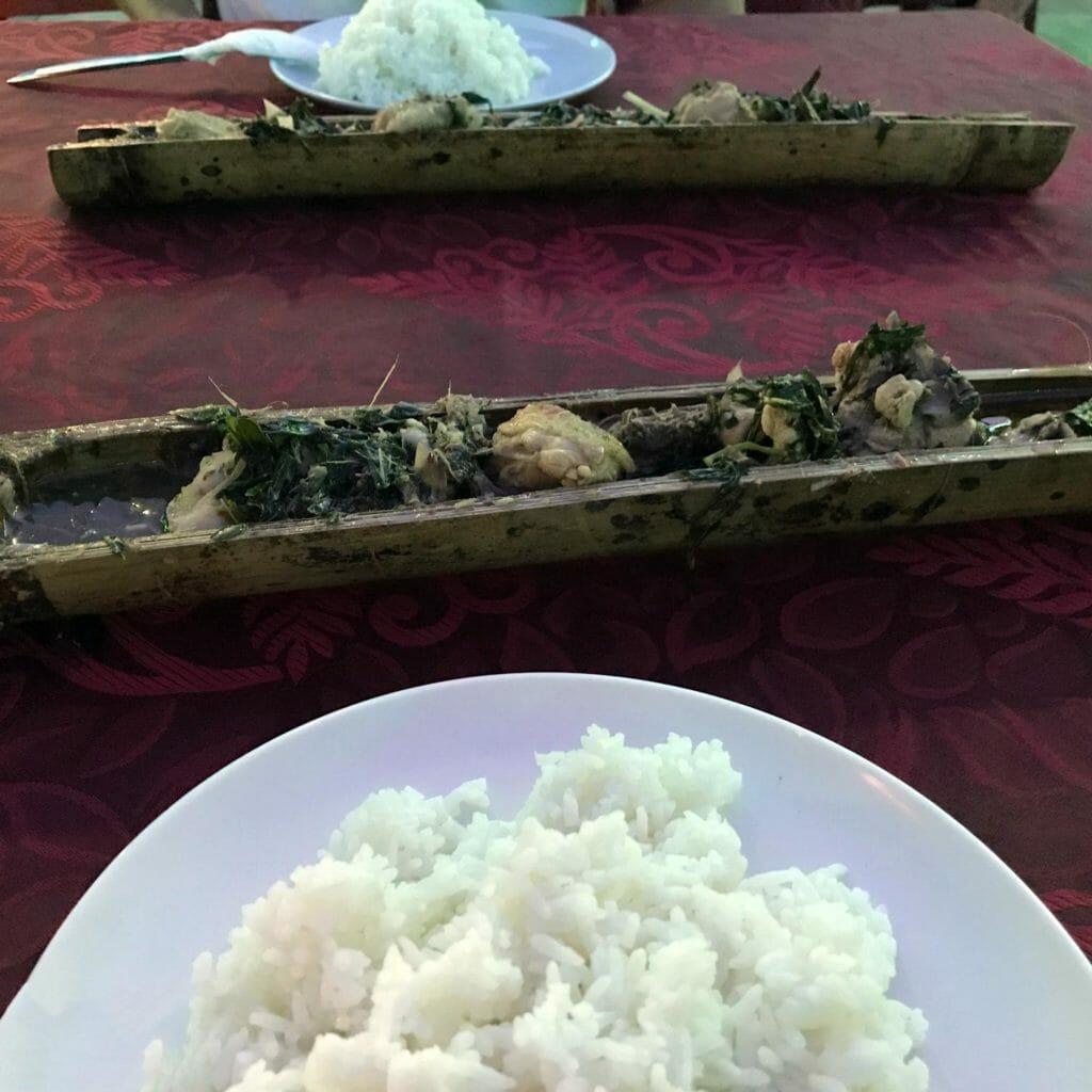 Kuching-Bamboo-Dinner