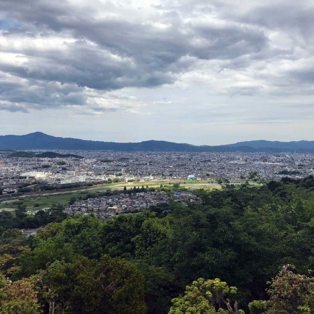Japan Kyoto Apen Rots Uitzicht