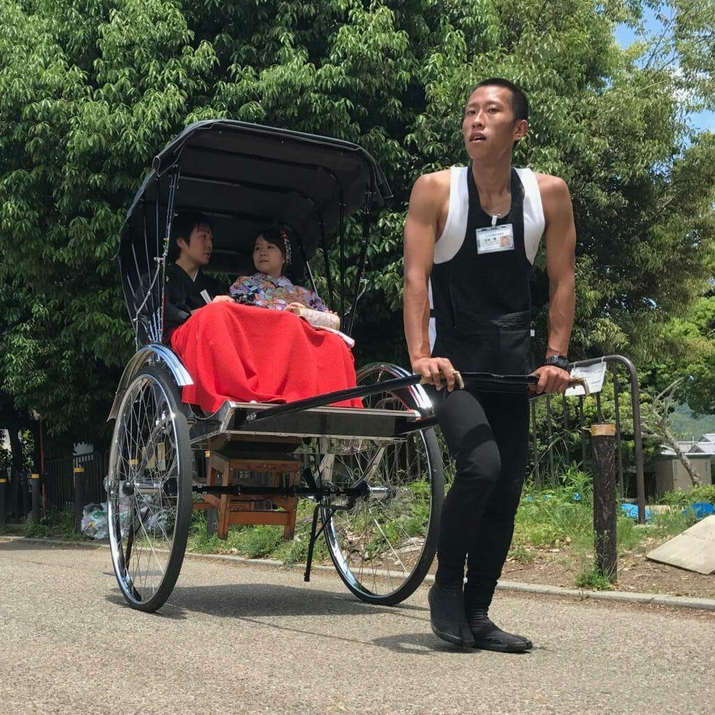 Japan Kyoto Autentieke Wagen 01
