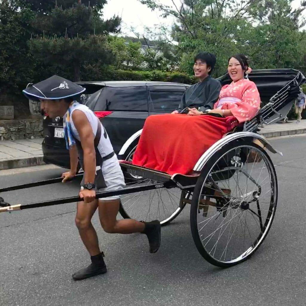 Japan Kyoto Autentieke Wagen 02