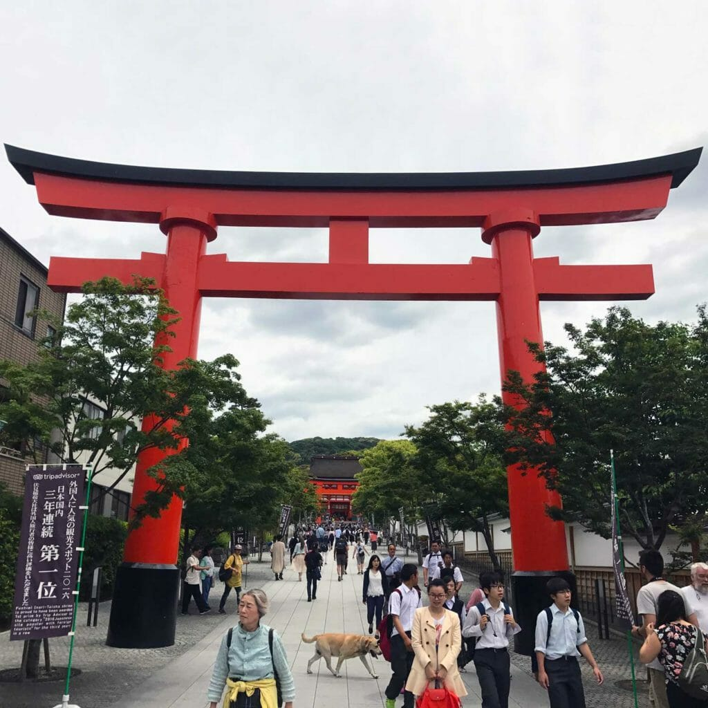Japan Kyoto Fushimi Inari Shrine 01