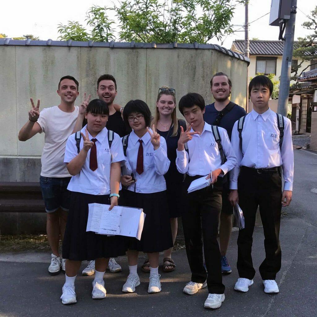 Japan Nara Schoolkinderen