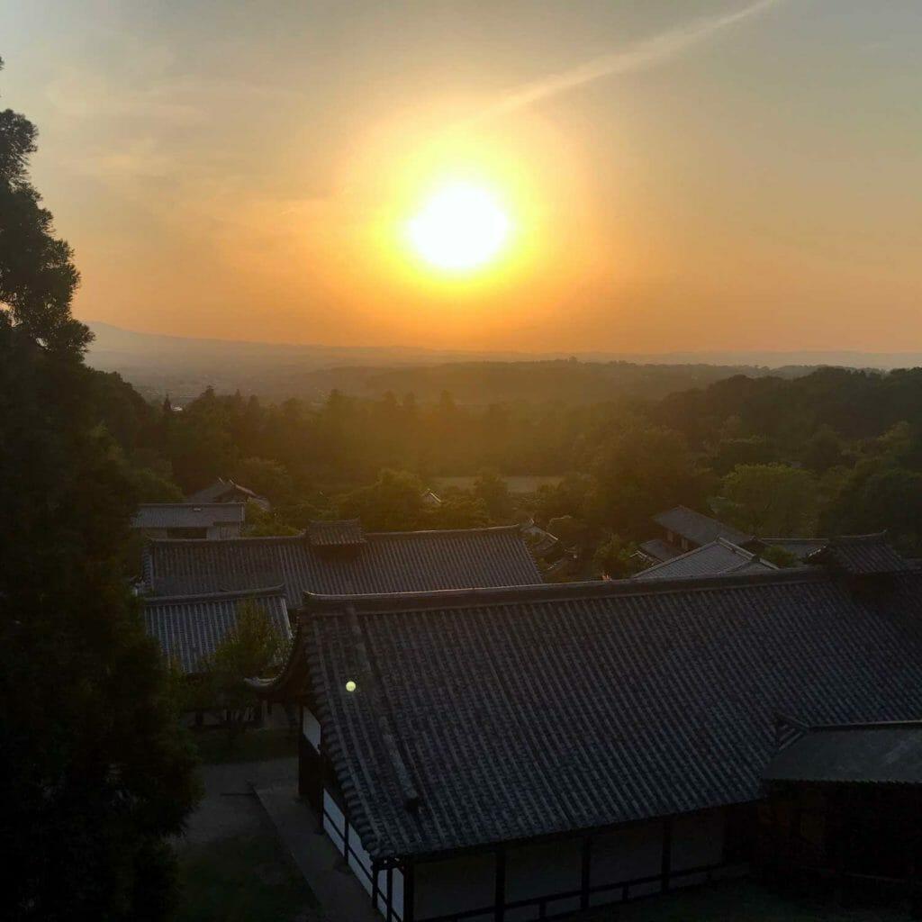 Japan Nara Sunset 01