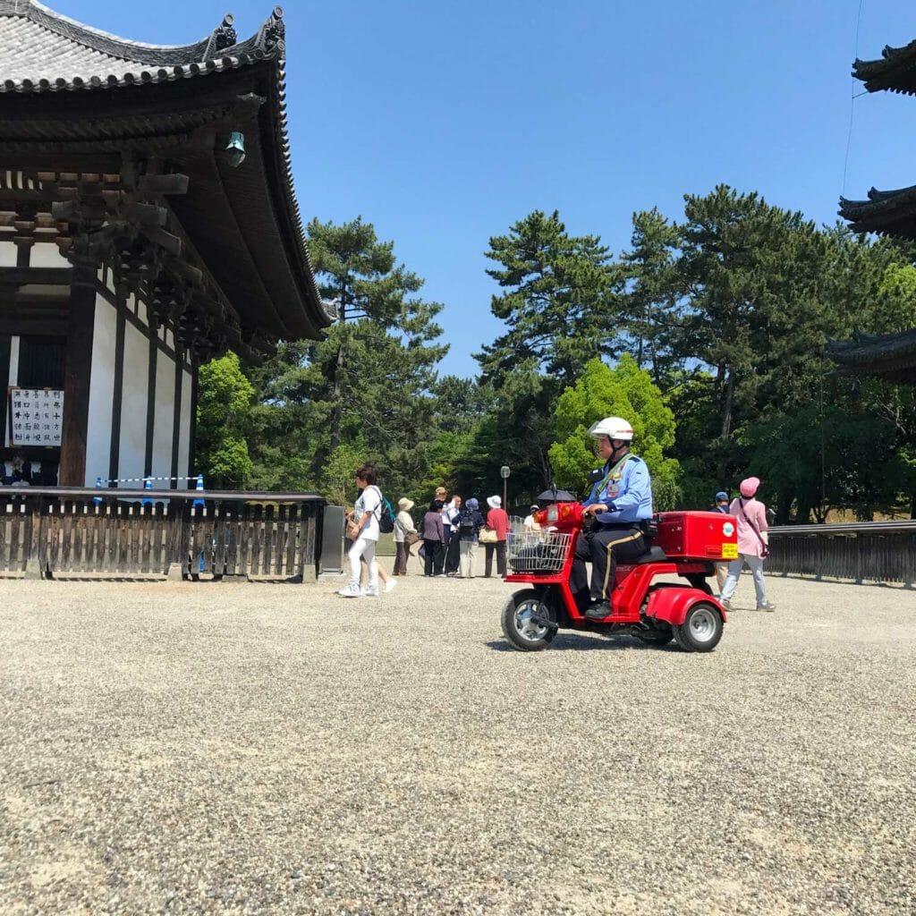 Japan Nara Tempel 01