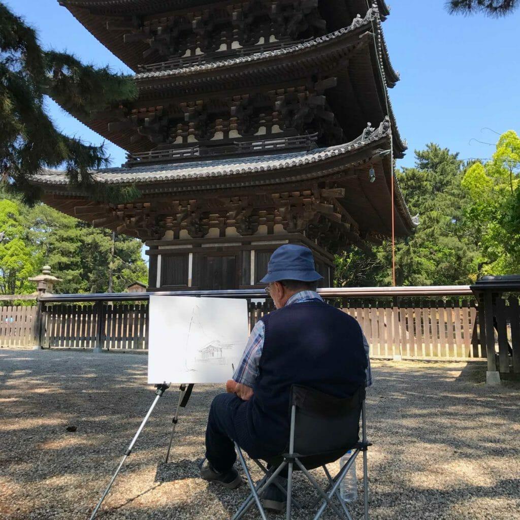 Japan Nara Tempel 02