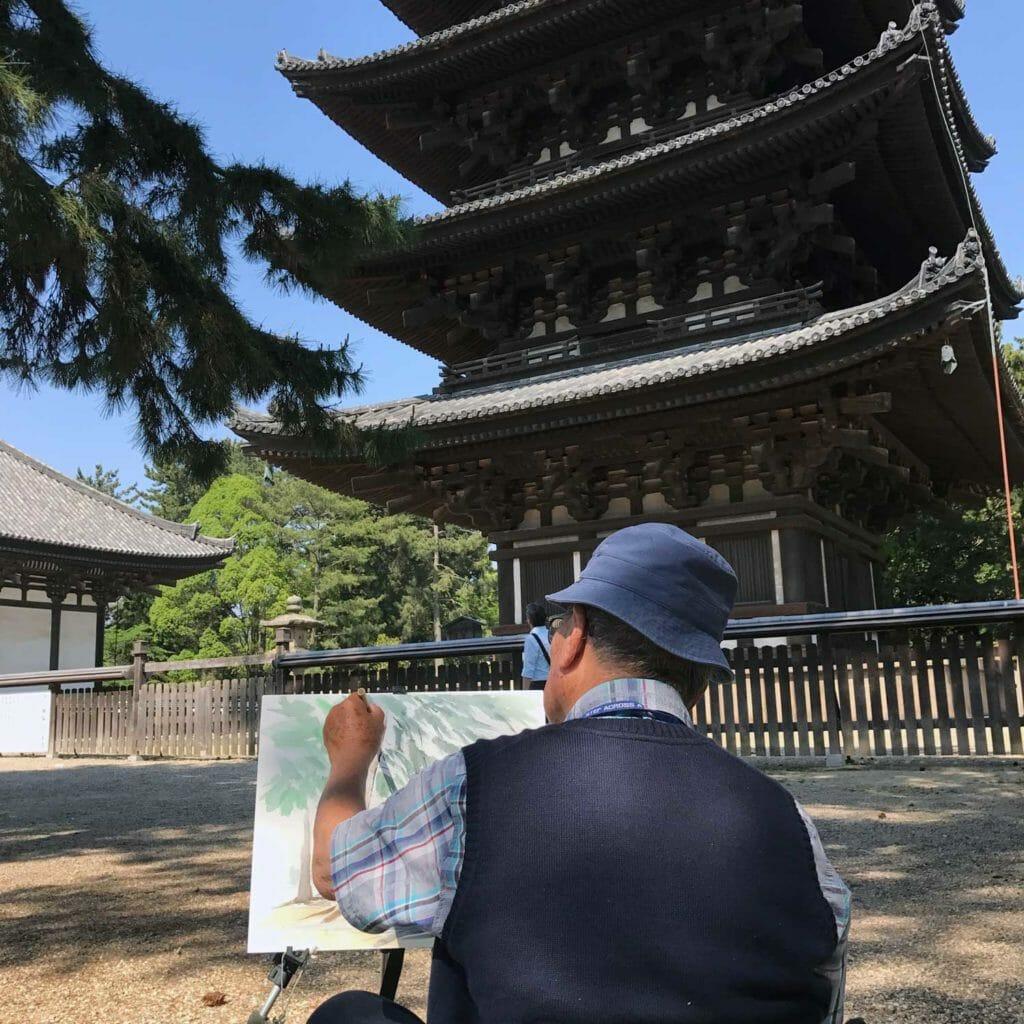 Japan Nara Tempel 03