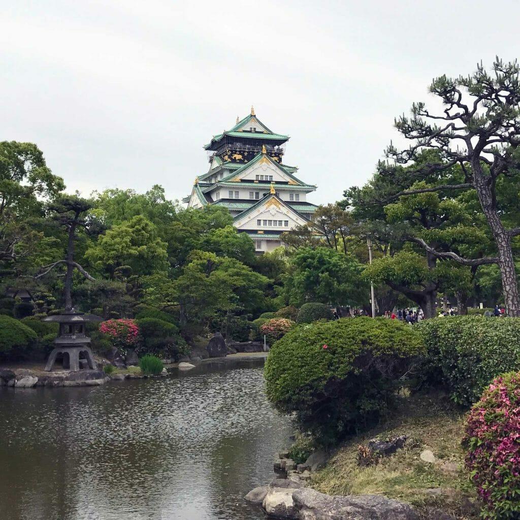Japan Osaka Castle 01