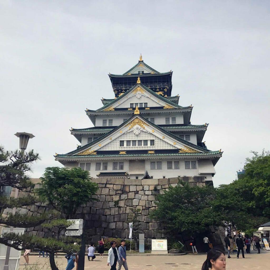 Japan Osaka Castle 03