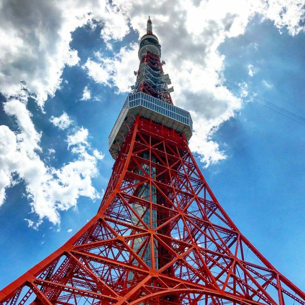 Japan Tokyo Eifeltoren 01