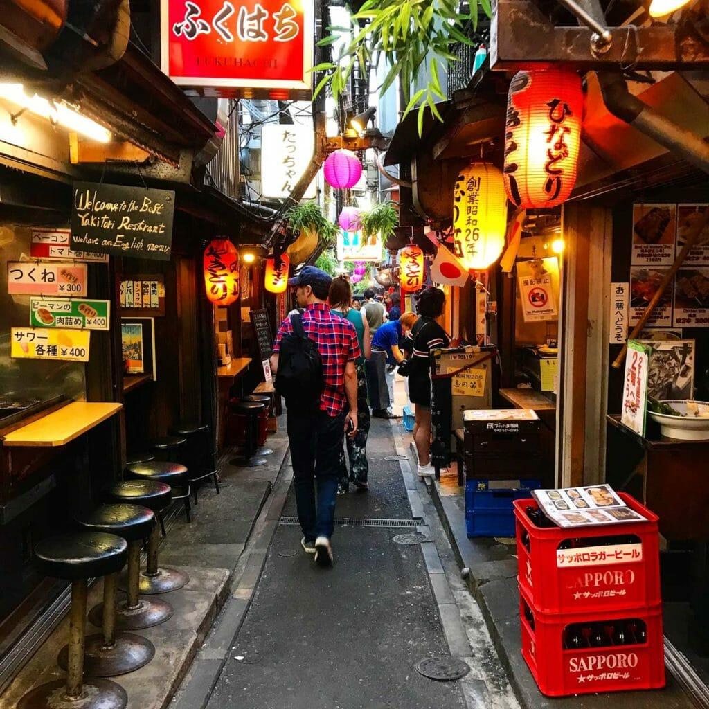 Japan Tokyo Ramen Straat