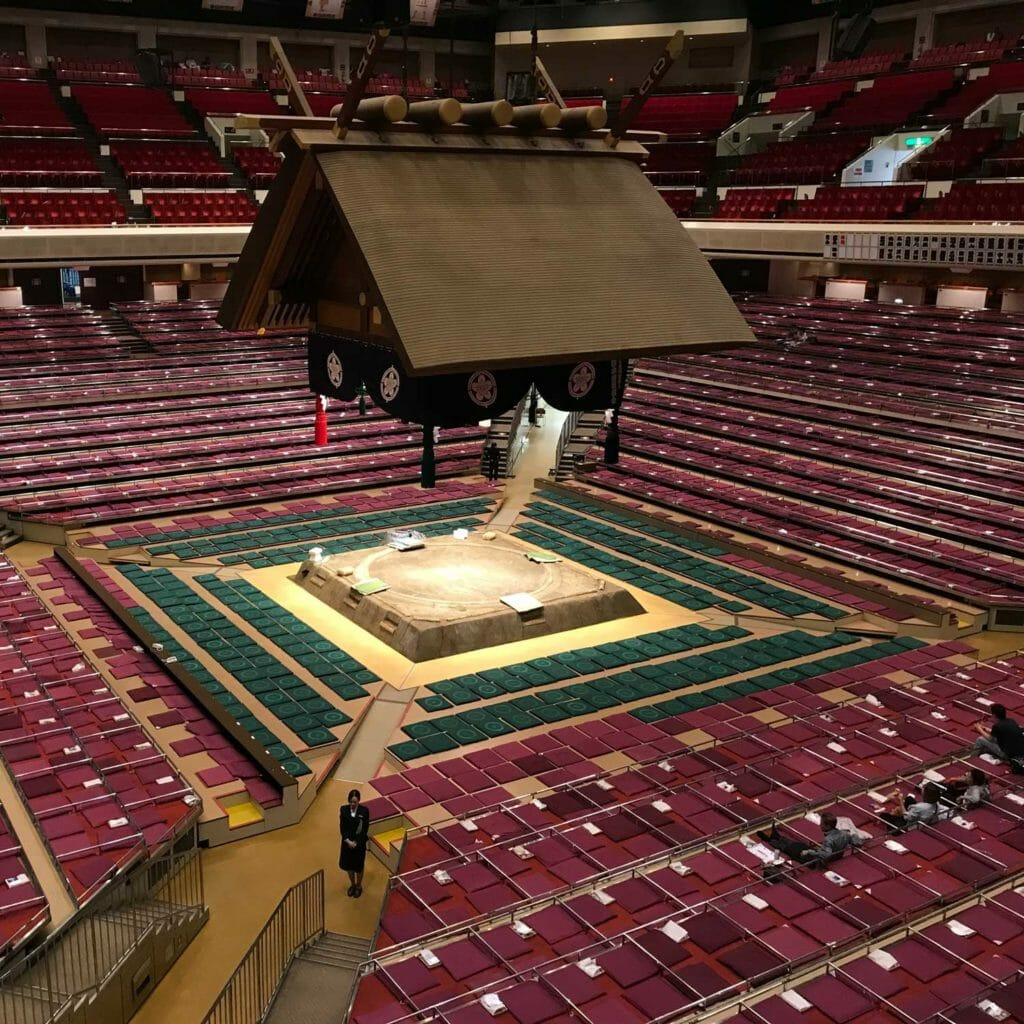 Japan Tokyo Sumo Arena 01