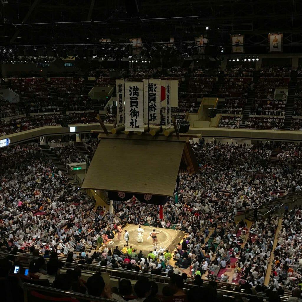 Japan Tokyo Sumo Arena 03