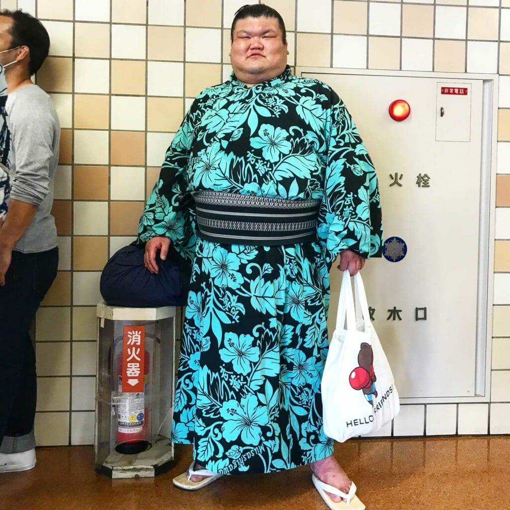 Japan Tokyo Sumo Worstelaar 02