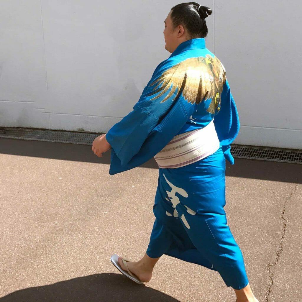 Japan Tokyo Sumo Worstelaar 05