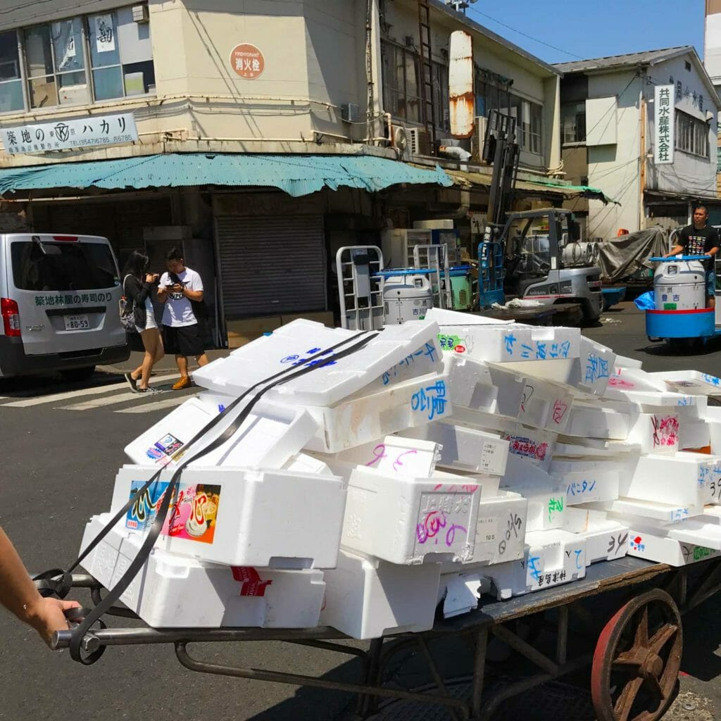 Japan Tokyo Tsukiji Fish Market 01