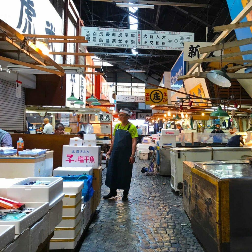Japan Tokyo Tsukiji Fish Market 03