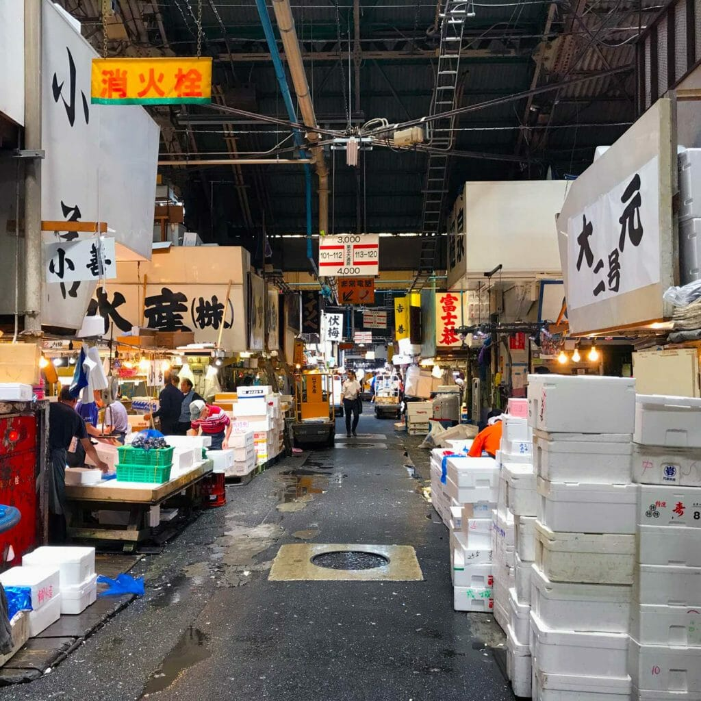 Japan Tokyo Tsukiji Fish Market 04