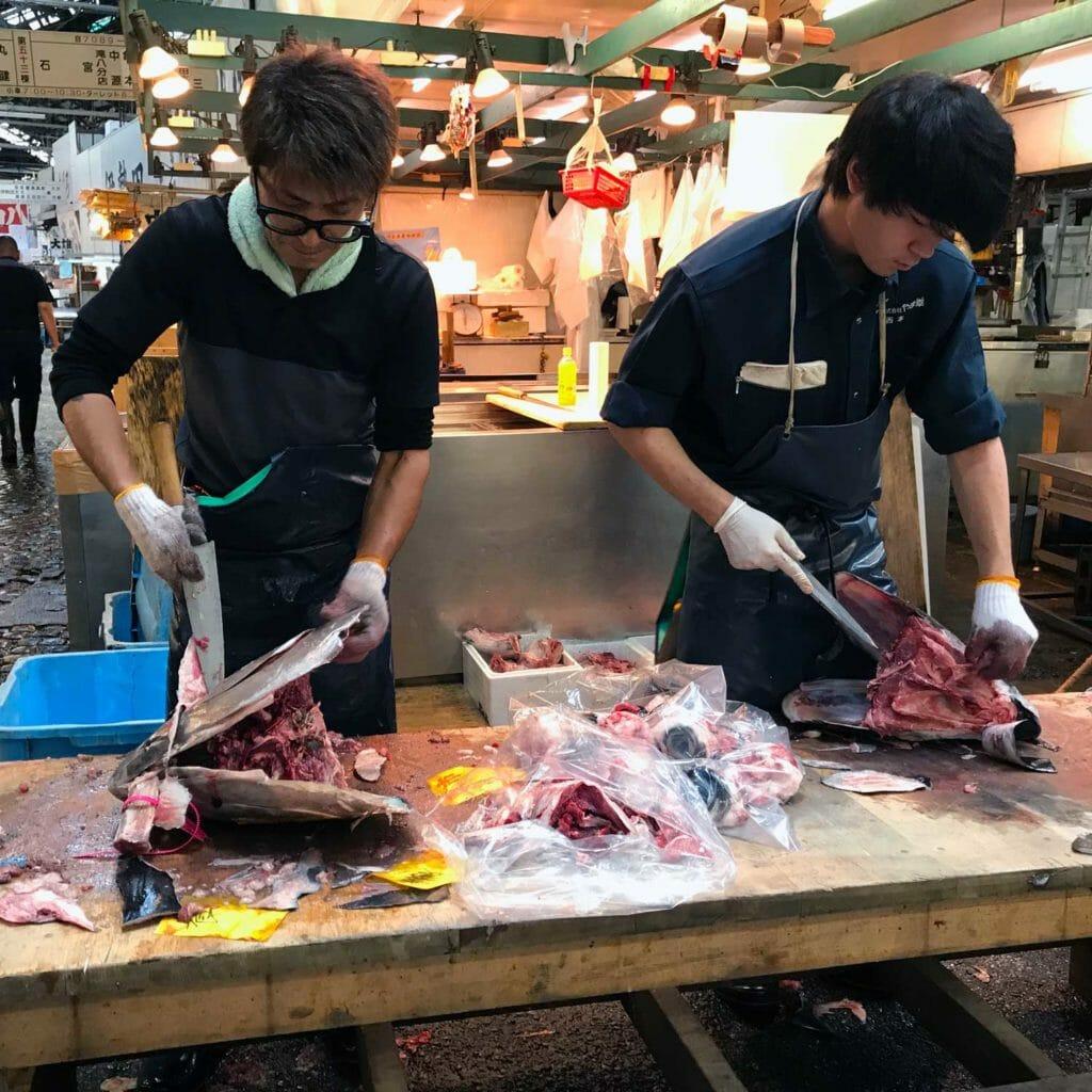 Japan Tokyo Tsukiji Fish Market 07