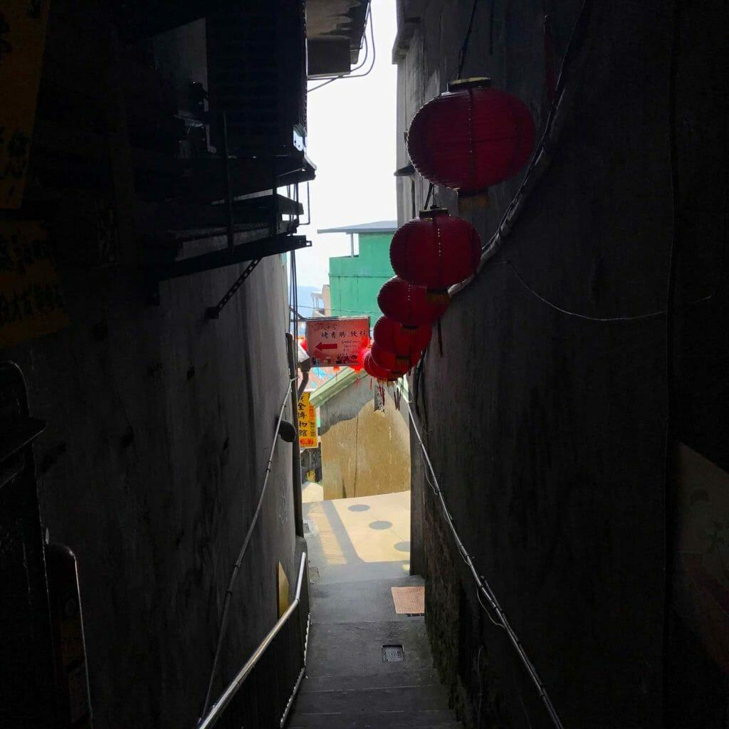 Taiwan Jiufen Doorkijk