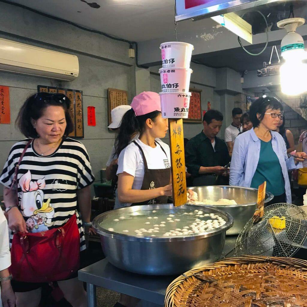 Taiwan Jiufen Food