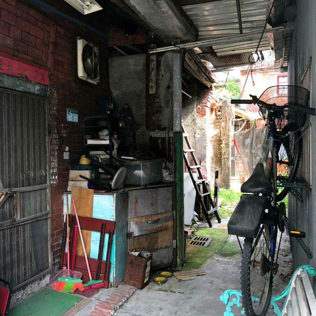 Taiwan Jiufen Straat