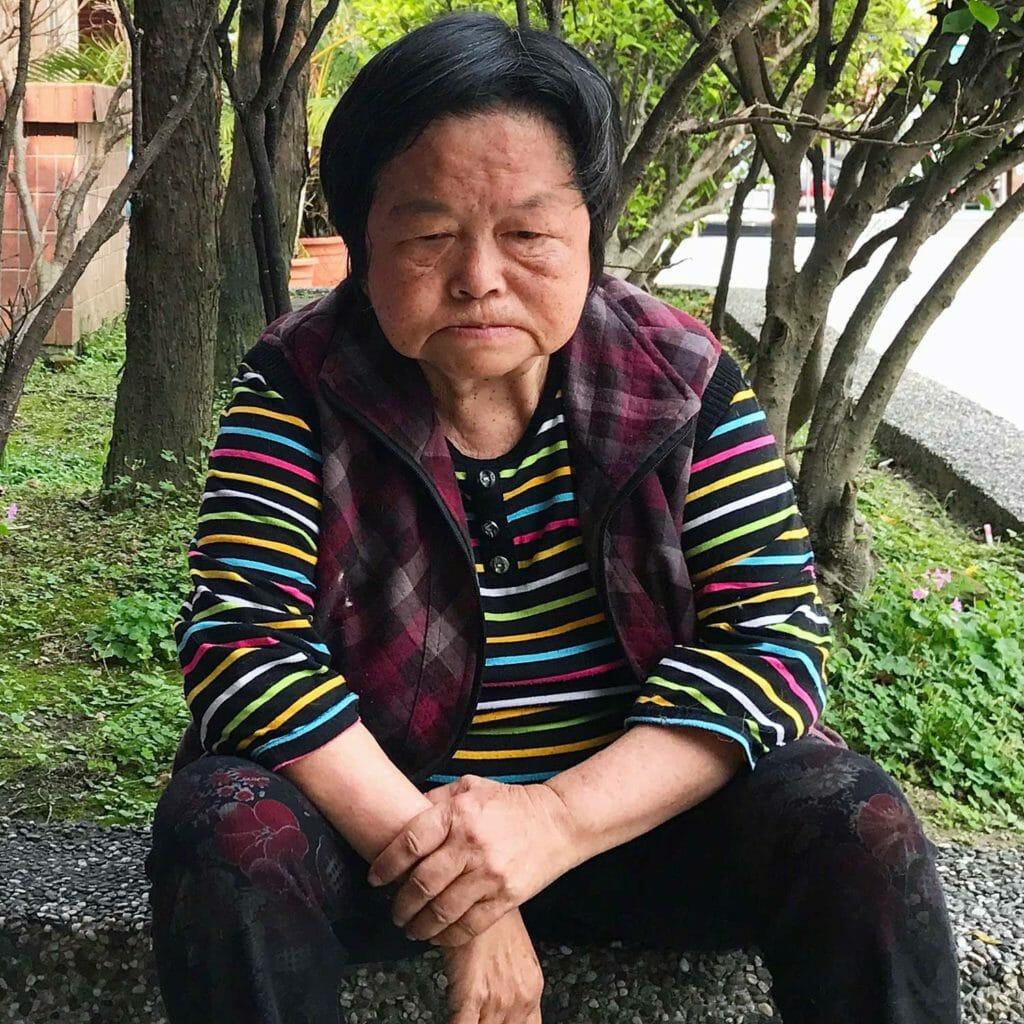 Taiwan Jiufen Vrouw