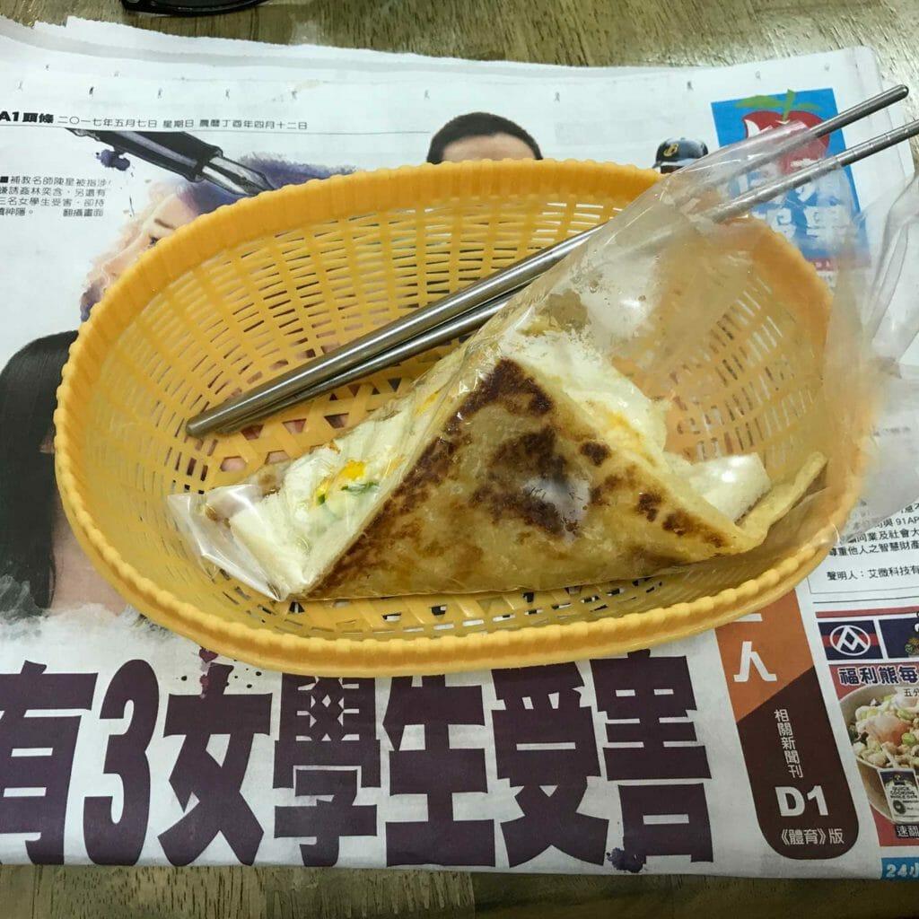 Taiwan Taipei Breakfast 01