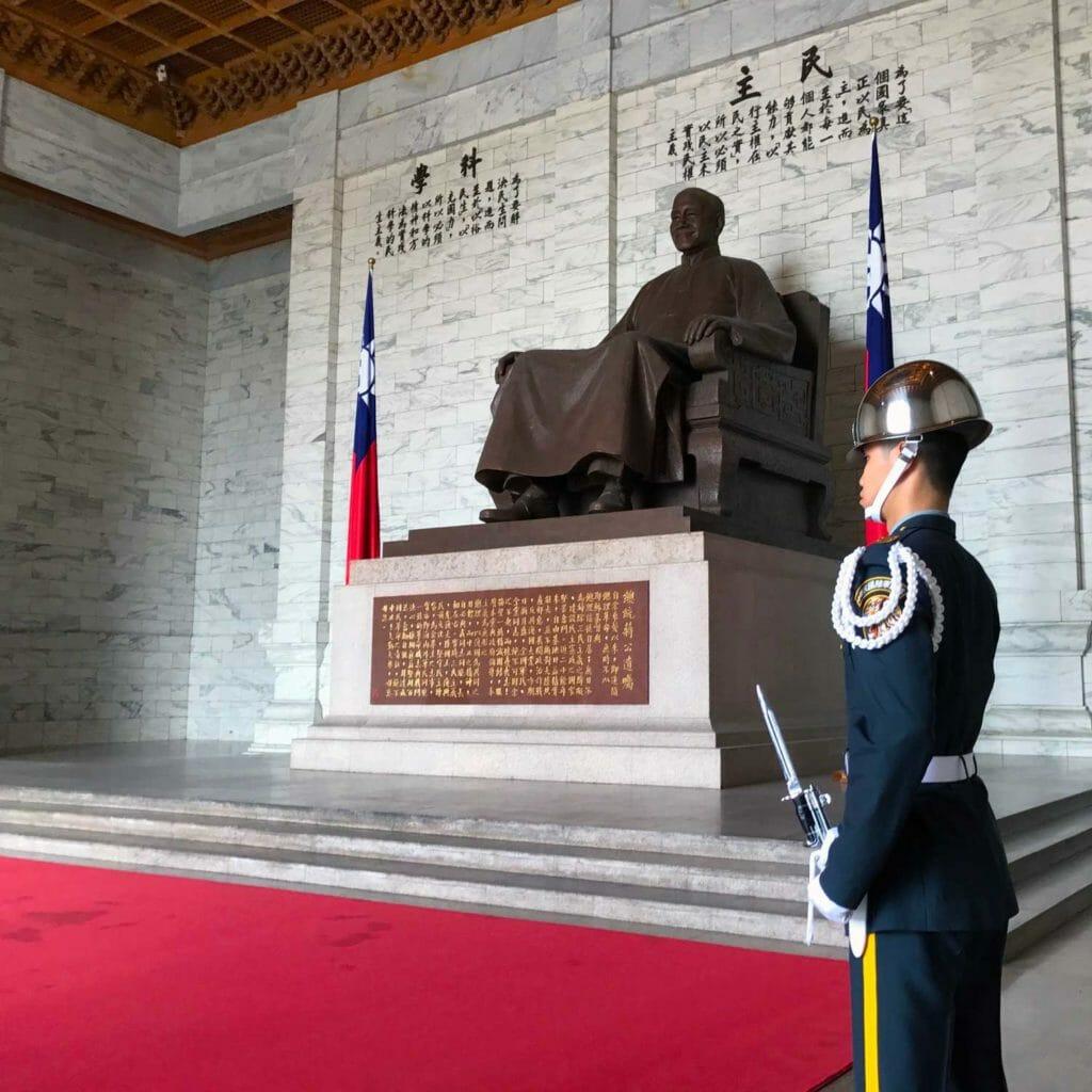 Taiwan Taipei Chiang Kai Shek Memorial Hall 01