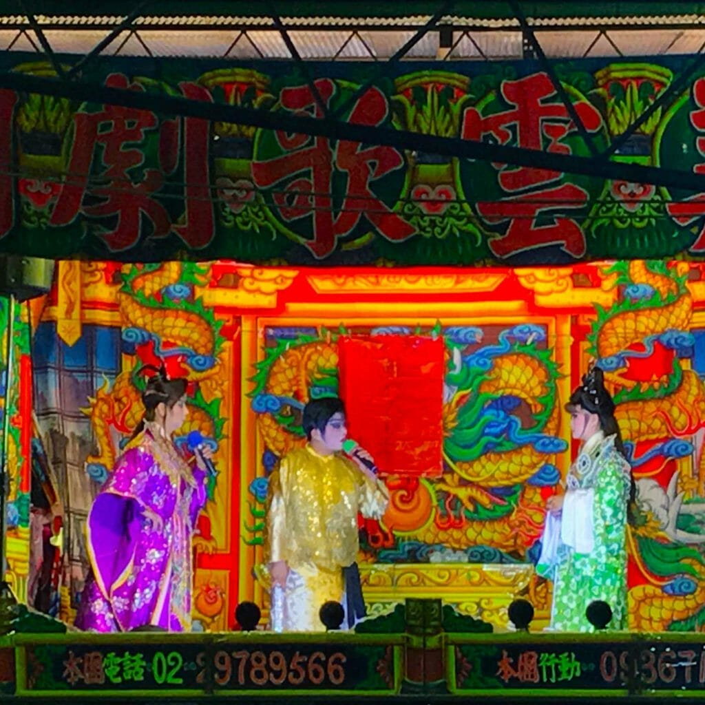 Taiwan Taipei Street Theater 01