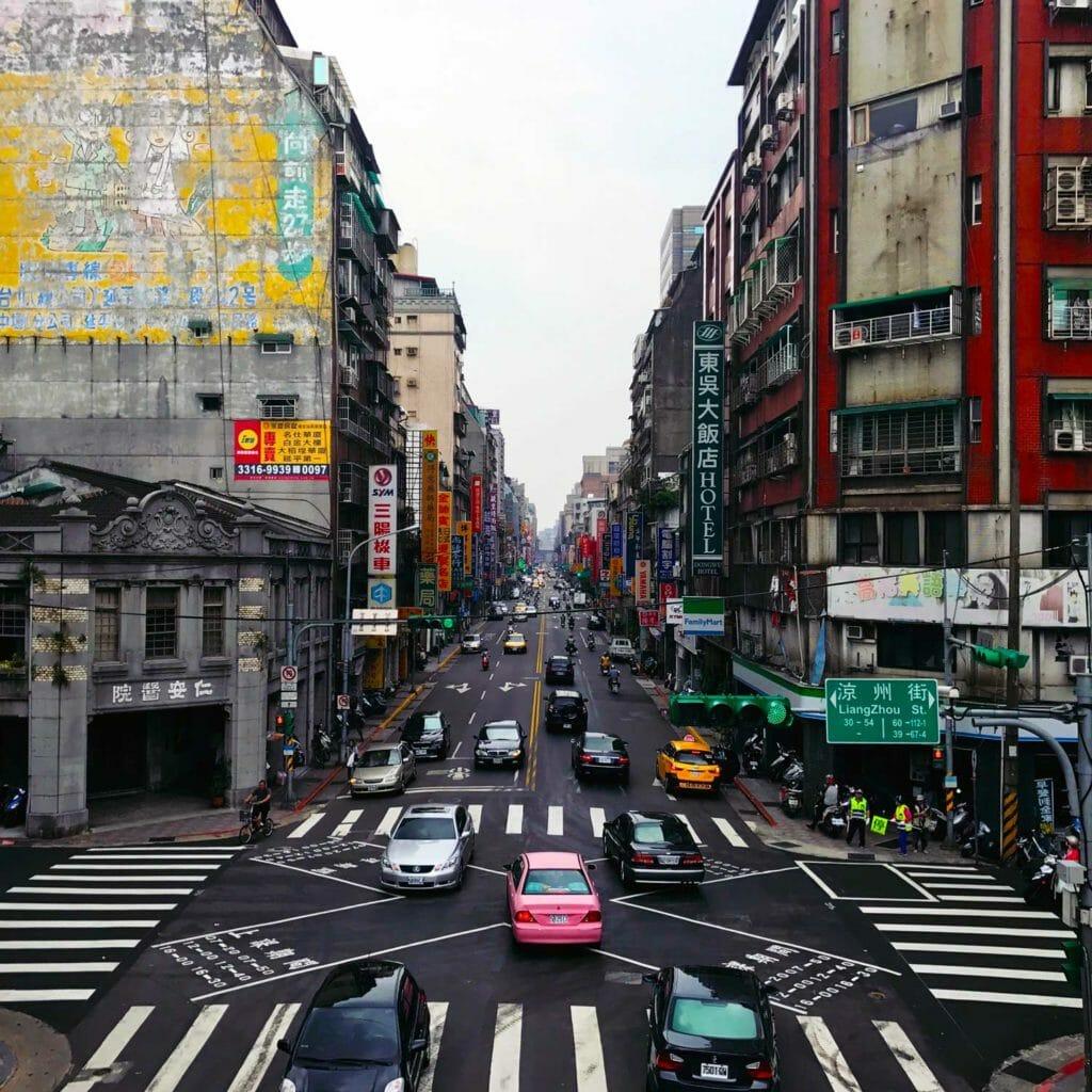 Taiwan Taipei Street View 01